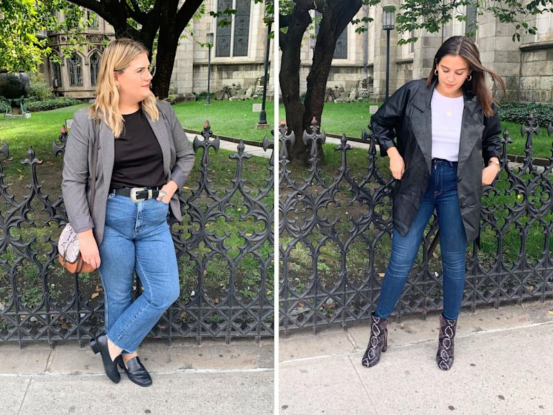 """Brittany and Danielle each found this to be the easiest look to put together during the challenge week.&nbsp; (Photo: <a href=""""https://www.instagram.com/shilohnoelle/"""" target=""""_blank"""">Shiloh Gulickson</a>)"""