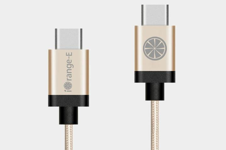 iOrange-E USB 2.0 C to C Braided Cable