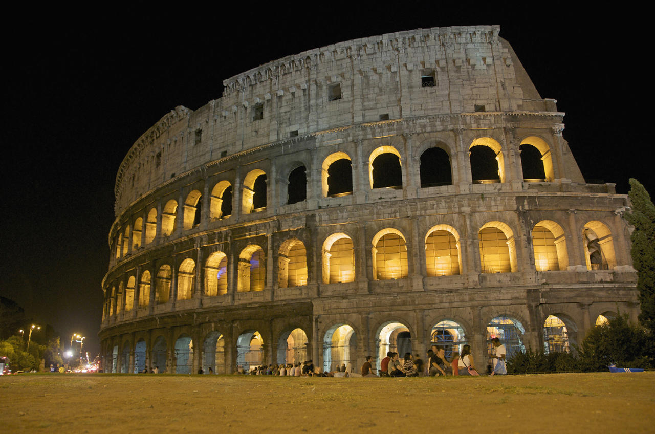 <p>The Colosseum, where up to 65,000 ancient Romans watched gladiators fight to the death, is one of the most recognizable monuments in the world. But all of Rome's center is considered a heritage site, which includes ruins of antiquity like the Mausoleum of Augustus and the Pantheon. The Vatican has its own designation. World Heritage site since 1990. (Photo: Bernard Jaubert/Canopy/Getty Images) </p>
