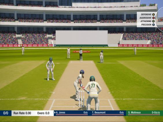 Cricket's virtual series has been less successful (Cricket 19)