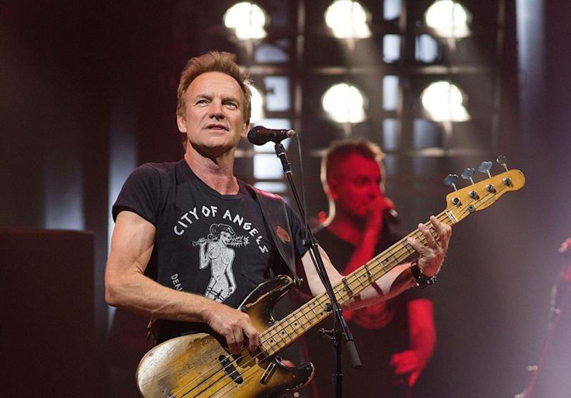 Sting is also said to be on the guest list. Photo: Getty Images