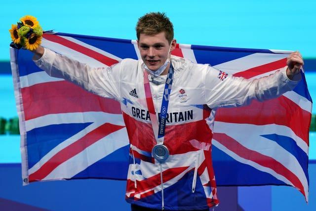 Duncan Scott took silver in the 200m medley