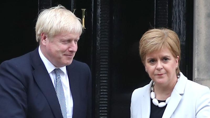 Sturgeon insists Scotland will have its say as PM rejects independence vote call