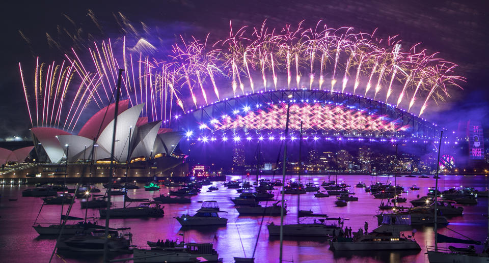 The fireworks display has been cancelled for the second year in a row. Source: AP Photo