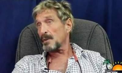 Belize: 'Bonkers' McAfee Urged To Contact Police