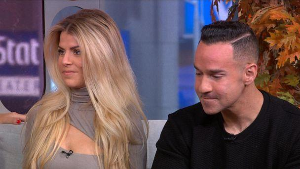 """VIDEO: Mike """"The Situation"""" Sorrentino and his wife Lauren open up for the first time about the miscarriage they suffered (ABCNews.com)"""