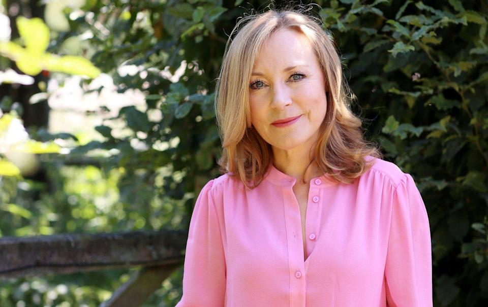 Sian Williams: 'We beat ourselves up for not recovering fast enough or coping well enough, perhaps even believing that we must somehow have invited cancer in' - Clara Molden for The Telegraph