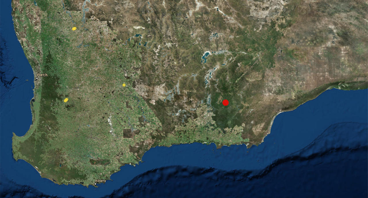 Earthquake strikes remote area of WA