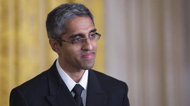 During his tenure as surgeon general, Vivek Murthy was known for his work battling the nation's opioid crisis, including issuing a 400-page report on addiction and mailing letters to doctors imploring them to join him in fighting the opioid epidemic.