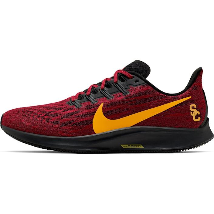 Men's Nike Cardinal/Gold USC Trojans Air Zoom Pegasus 36 Sneakers