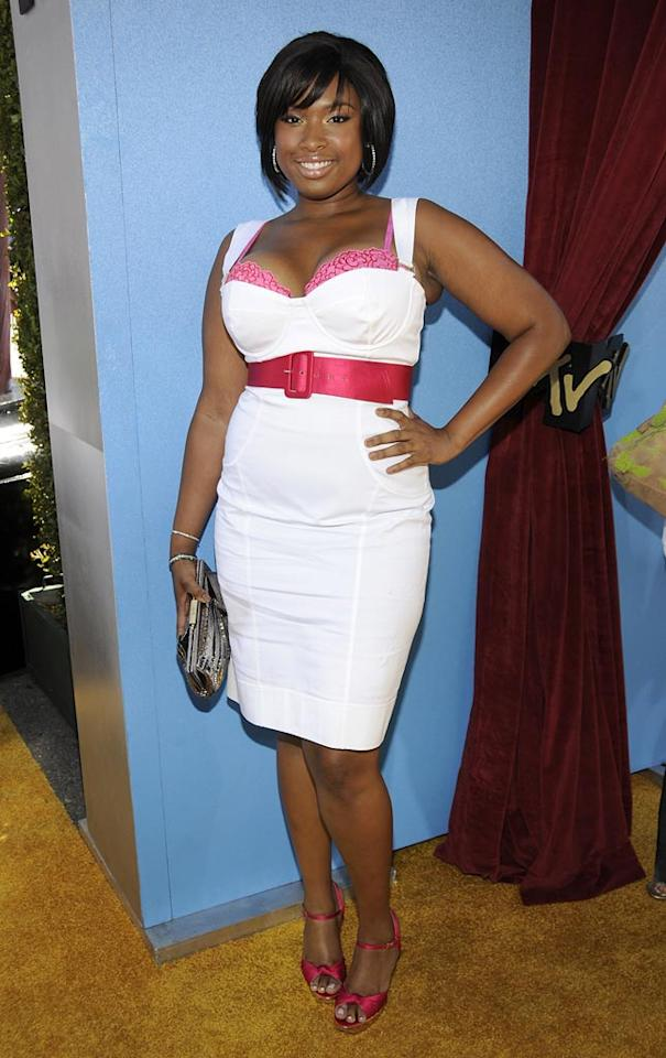 "WORST - Can someone tell <a href=""http://movies.yahoo.com/movie/contributor/1808690669"">Jennifer Hudson</a> her bra is showing? Like, 80% of it?"