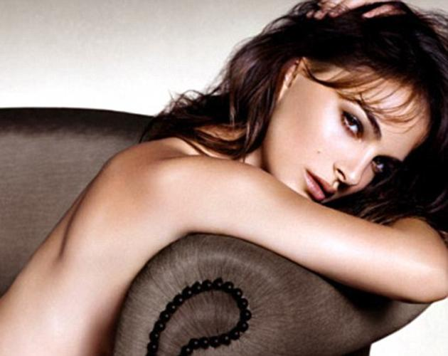 Sexy celebrity ad campaigns: Natalie Portman posed provocatively with nothing on for the latest look for Dior. She was erm, modeling the new Rouge Dior Nude Lipcolor although it's really her smooth back and piercing stare we're looking at right now. [Copyright: Dior]