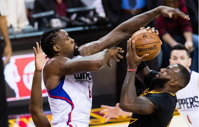 The Cavaliers put the kibosh on a deal that would have paired DeAndre Jordan with LeBron James. (Getty Images)
