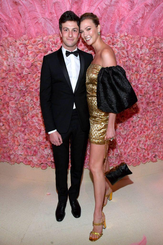 """<p>Supermodel Karlie Kloss dated entrepreneur and photographer Josh Kushner for six years before the two got married in an intimate upstate New York ceremony in October 2018. The couple had a <a href=""""https://www.businessinsider.com/karlie-kloss-joshua-kushner-trump-politics-2018-3"""" rel=""""nofollow noopener"""" target=""""_blank"""" data-ylk=""""slk:larger celebration in 2019"""" class=""""link rapid-noclick-resp"""">larger celebration in 2019</a> for their friends and family. </p>"""