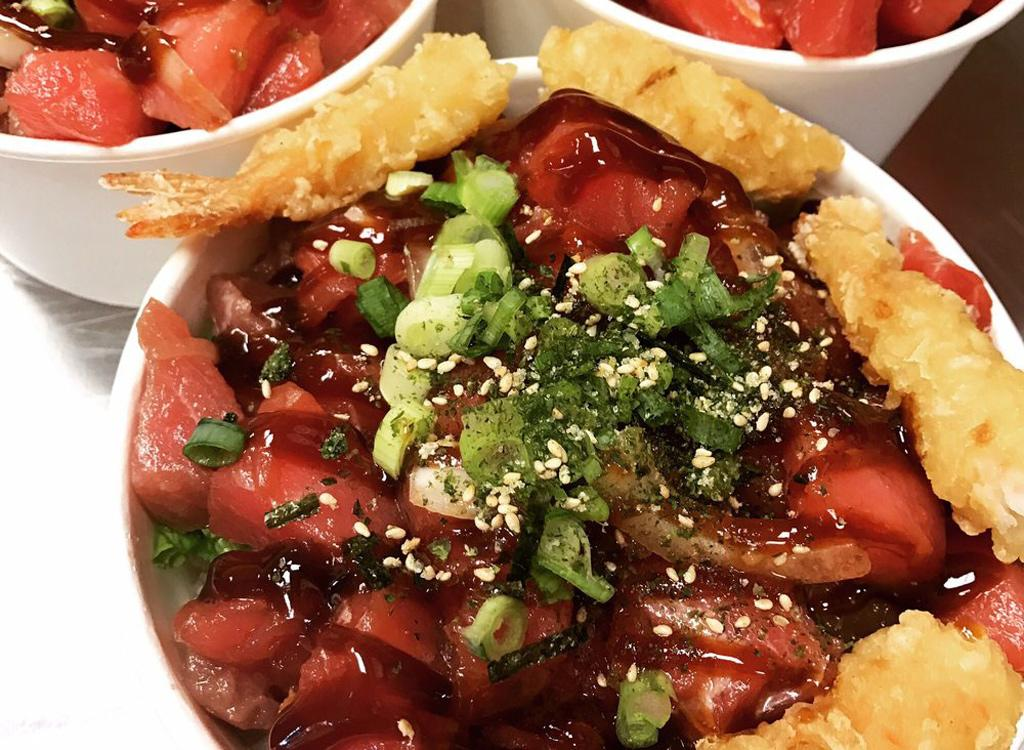 <h3>Top Bop, Anchorage</h3>       This Asian-fusion, one-stop-shop caters to hungry Anchoragers' cravings for under ten bucks. The esteemed Korean spot serves up authentic dishes such as Bibim Bop and allows you to customize your meal to your desired level of spiciness.