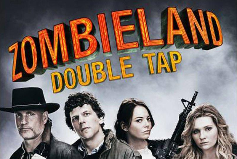 Woody Harrelson, Jeese Eisenberg and Emma Stone make up the core cast of upcoming sequel Zombieland: Double Tap (Sony)