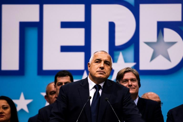 Exit polls show party of Bulgaria's former PM leading