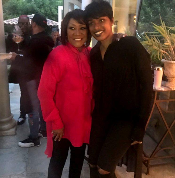 Patti Labelle and Jennifer Hudson celebrated the icon's 73rd birthday together. (Photo: Jennifer Hudson via Instagram)