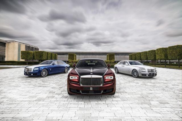 Rolls-Royce Ghost Zenith to make European debut at Salon Privé