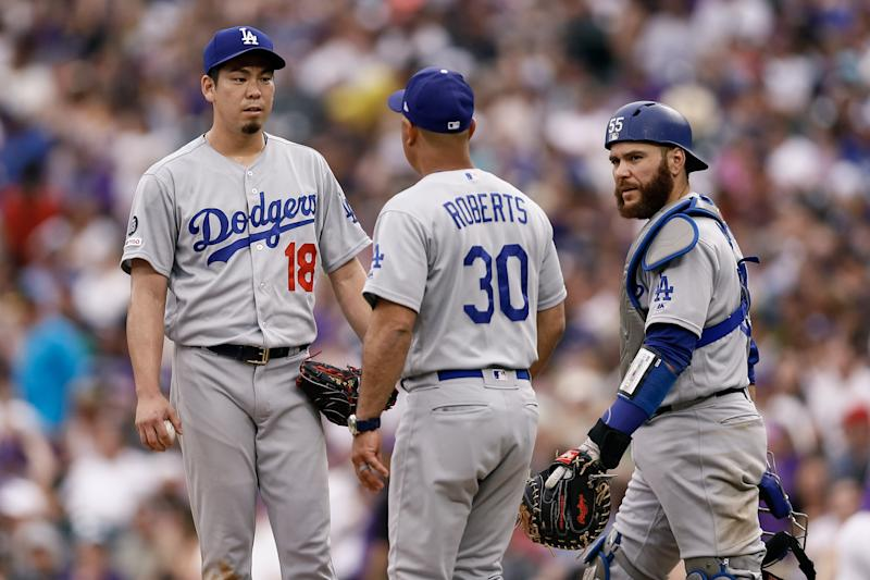 Dave Roberts and the Dodgers are trying to end a 31-year World Series drought. (Isaiah J. Downing-USA TODAY Sports)