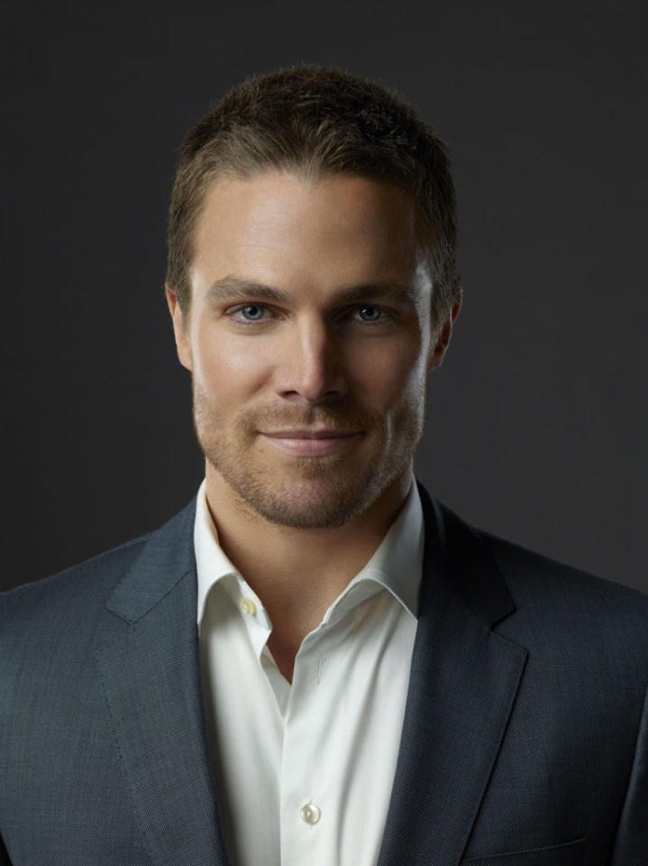 """Stephen Amell as Oliver Queen in """"Arrow"""" on The CW."""