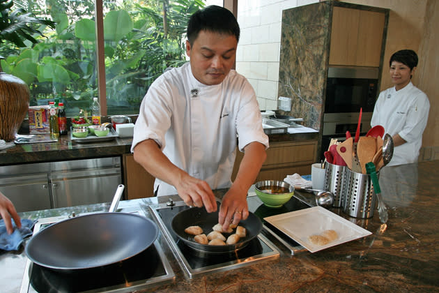 Cooking in the Forest with Sam Leong