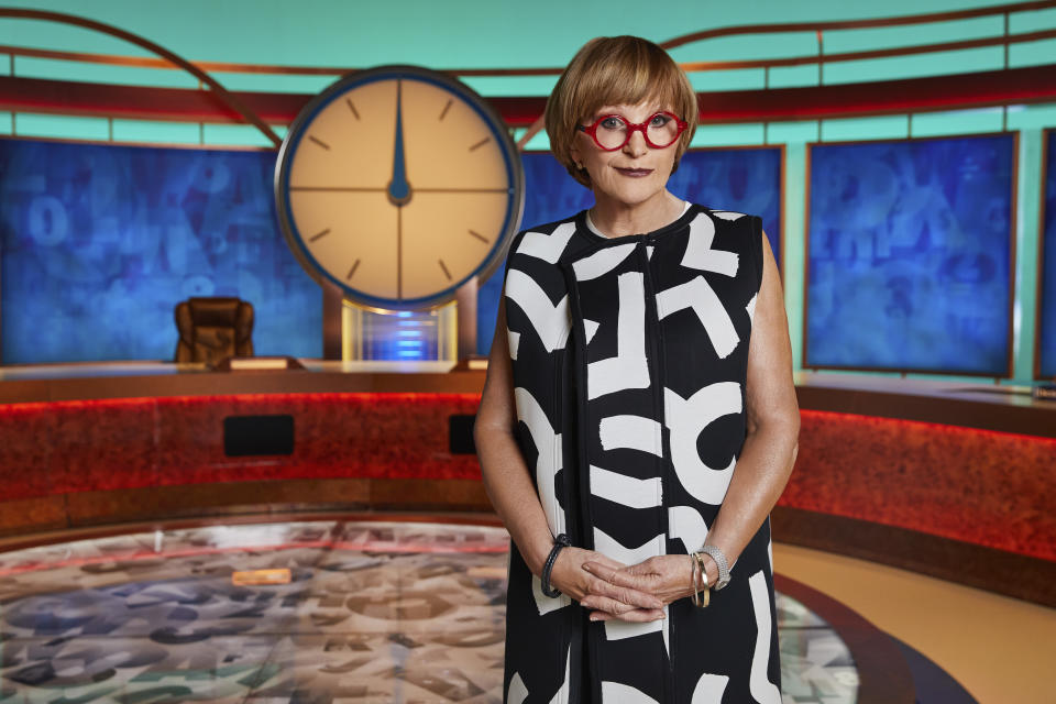 Anne Robinson stepped into the 'Countdown' hotseat this week. (Channel 4)