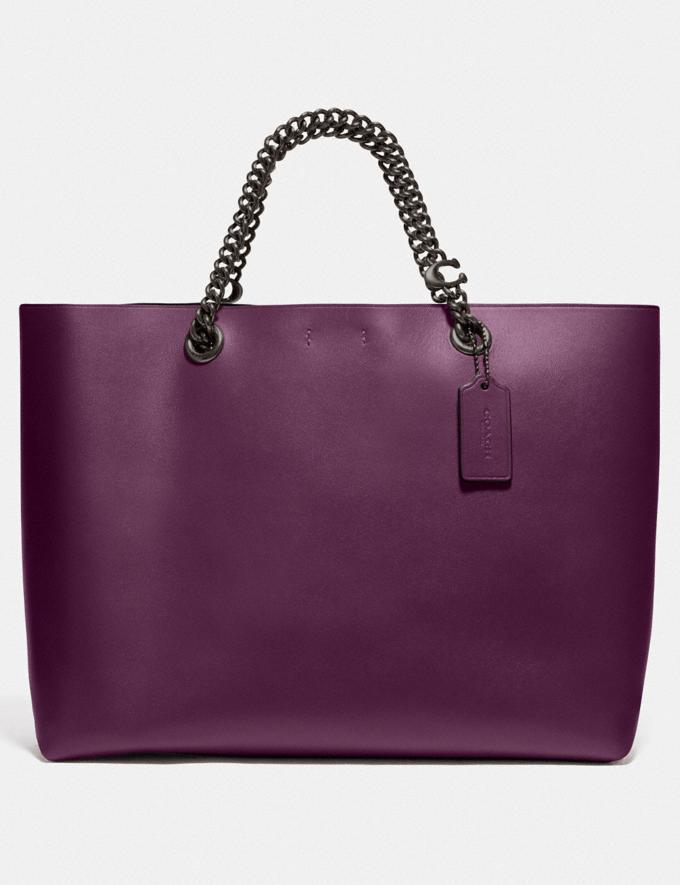Signature Chain Central Tote