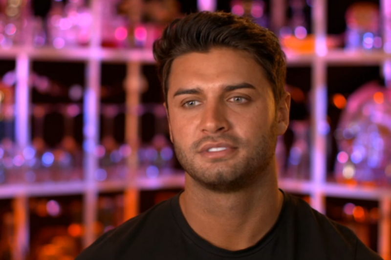 'Arrogant': Viewers slated Muggy Mike for storming out of a mixer on Celebs Go dating (E4)