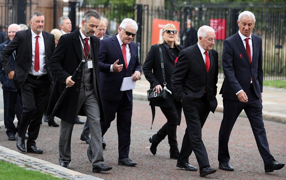 Roger Hunt funeral: Sir Geoff Hurst and Kevin Keegan pay tribute to Liverpool legend - REUTERS