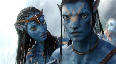 A scene from James Cameron's sci-fi epic ''Avatar''.