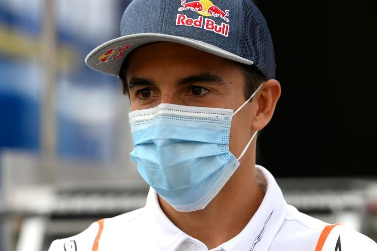 Marc Marquez has not raced since fracturing his arm in the opening race of the season