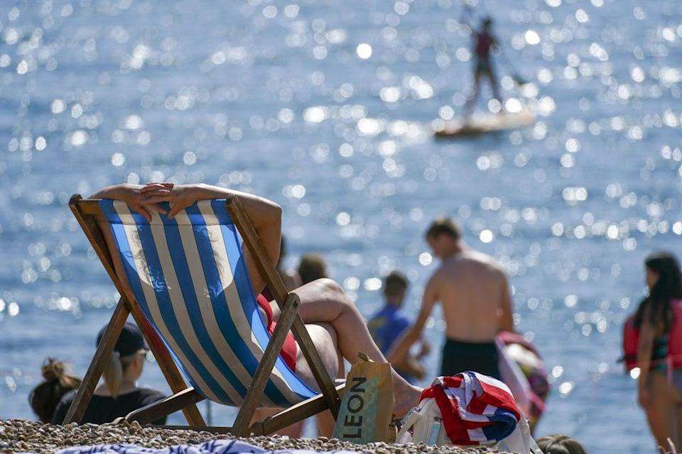 The Post Office handled record amounts of cash as holidaymakers embarked on UK-based staycations in August (Steve Parsons/PA) (PA Wire)