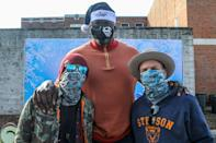 <p>Shaquille O'Neal was joined by Preston Brust and Chris Lucas of LoCash at the Pepsi Stronger Together and Shaquille O'Neal Foundation's Holiday Market at Jones Paideia Elementary School in Nashville.</p>
