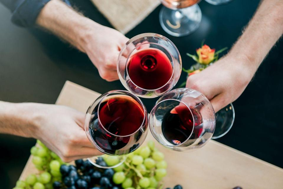 <p>For all wine-loving dads, the ultimate treat on Father's Day is an at-home wine-tasting event. Complete a selection of the best wines with a beautiful spread of cheeses and grapes, along with a scorecard to keep track of all the wines he's tasting. </p>