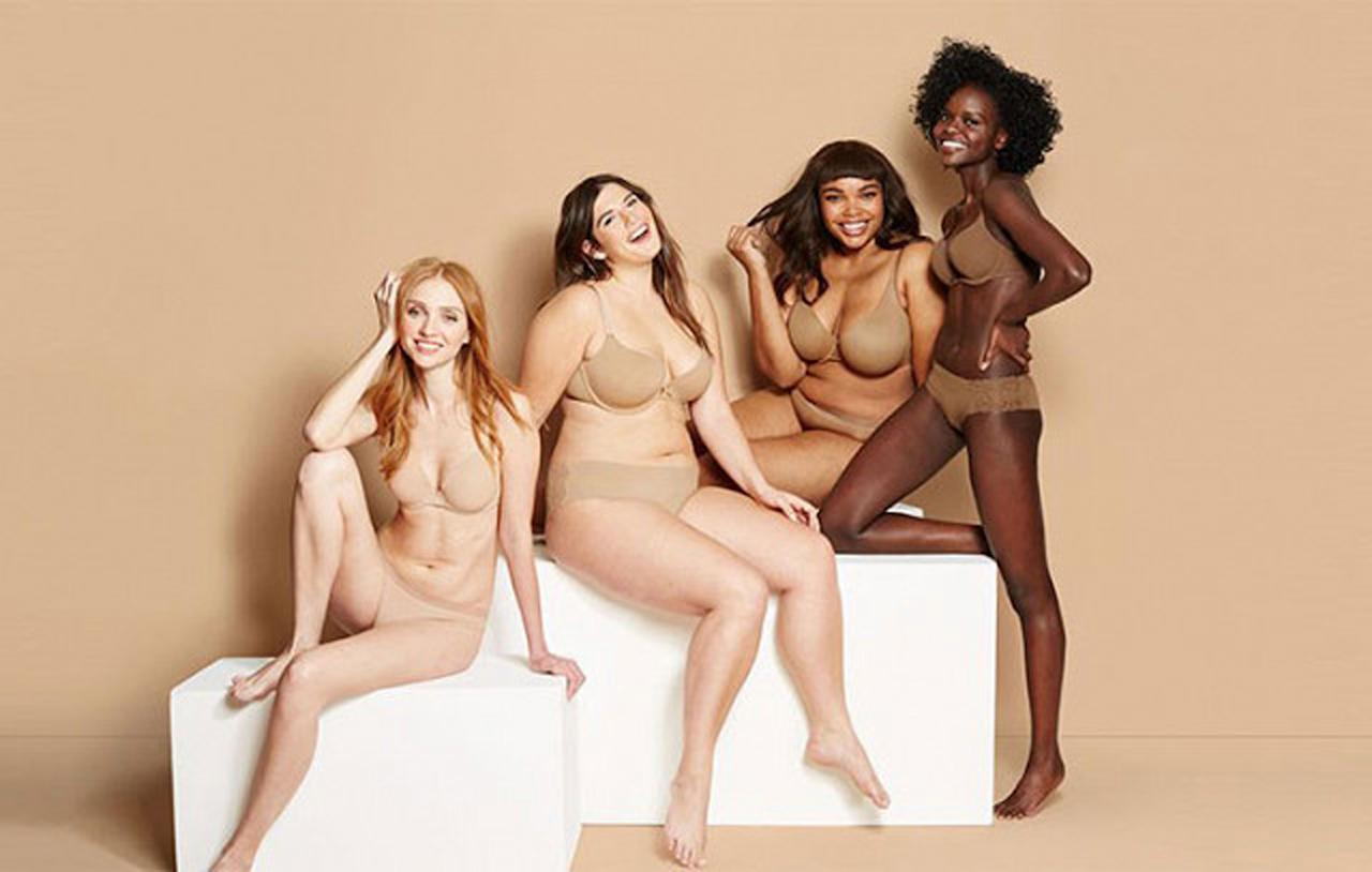 """<p><a rel=""""nofollow"""" href=""""http://www.target.com/c/shades-of-nude/-/N-jqkmg?Sort=newest&clearCategId=jqkmg&Nao=24"""">Target</a> recently expanded its lingerie line, adding four new flesh-toned shades to its affordable collection of underwear, shapewear, and hosiery. Customers can now shop for Cocoa, Caramel, Honey Beige, and Mochaccino undergarments to complement their diverse complexions.</p>"""
