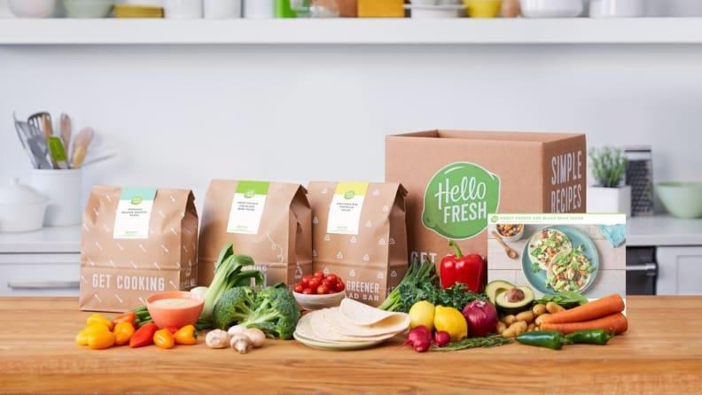 Gifts for new parents: Hello Fresh meal delivery