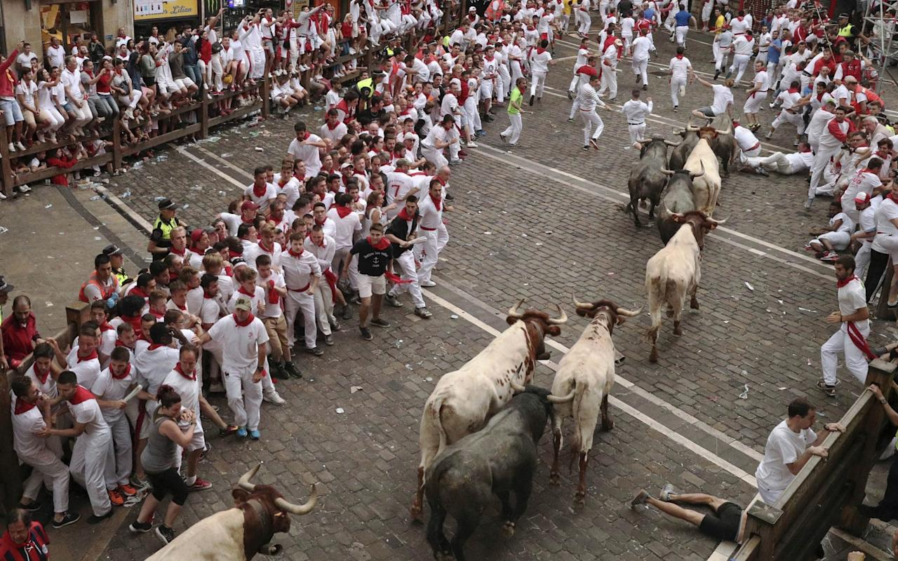 Eleven arrested for sex attacks at Pamplona's famous running of the bulls festival