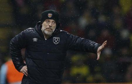 West Ham United manager Slaven Bilic