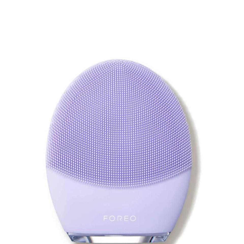 """<p><strong>FOREO</strong></p><p>dermstore.com</p><p><strong>$199.00</strong></p><p><a href=""""https://go.redirectingat.com?id=74968X1596630&url=https%3A%2F%2Fwww.dermstore.com%2Fforeo-luna-3-for-sensitive-skin%2F12194387.html&sref=https%3A%2F%2Fwww.prevention.com%2Flife%2Fg29518657%2Fgifts-for-teenage-girls%2F"""" rel=""""nofollow noopener"""" target=""""_blank"""" data-ylk=""""slk:Shop Now"""" class=""""link rapid-noclick-resp"""">Shop Now</a></p><p>She keeps tabs on everything you do, including your skincare routine. So let her have a little fun and indulge in some self-care with this gentle facial device. It's designed for sensitive skin and will give her a nice facial massage while cleansing her face. </p>"""
