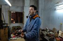Anis Bouchnak learnt the pipe-making skills from an expert employed by his grandfather, who died last year