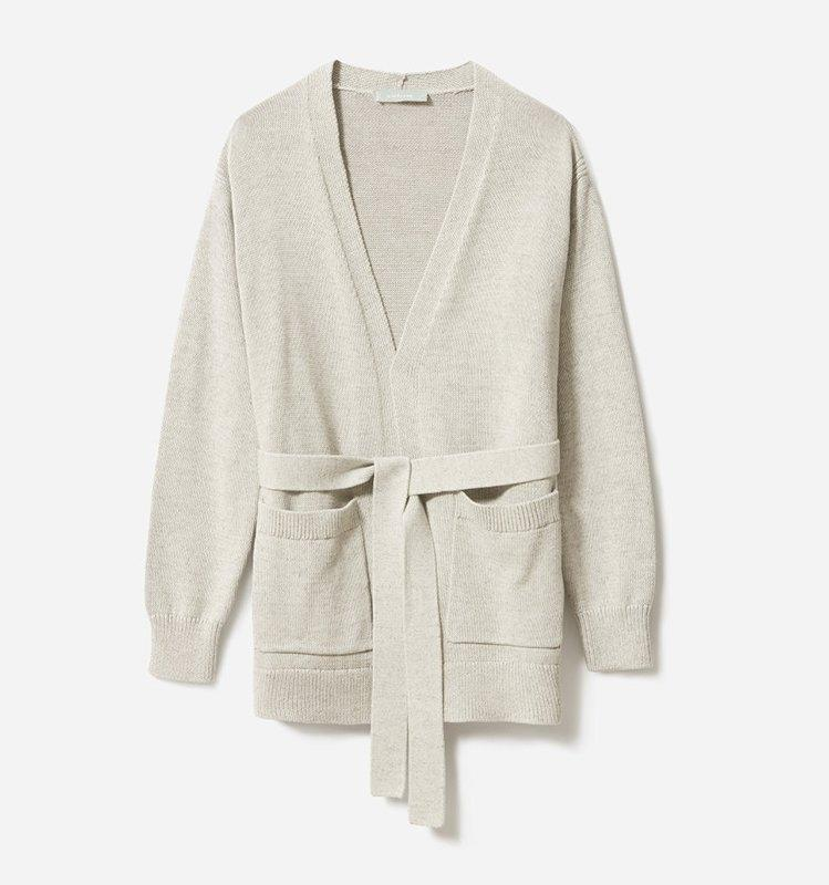 """<p>When you spend your days in a frigid office, mastering the art of layering is key. This everyday cardigan is as flattering as it is versatile, and will easily become the envy of your co-workers.</p> <p><strong>To buy: </strong>$75; <a href=""""https://www.pjtra.com/t/8-9711-131940-104709?sid=RS%2CCozyEssentialsforColdOffices%2Crsylvester805%2CCAR%2CIMA%2C670997%2C201908%2CI&url=https%3A%2F%2Fwww.everlane.com%2Fproducts%2Fwomens-soft-cotton-wrap-cardigan-black"""" target=""""_blank"""">everlane.com</a>.</p>"""