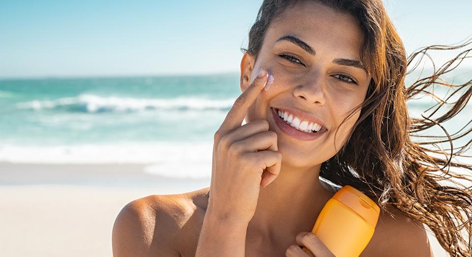 Protect your skin with this anti-ageing sun protection.  (Getty Images)