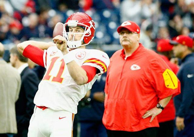 There's plenty of fantasy talent on KC's roster, but an Alex Smith-led offense is tough to fully embrace. (Photo by Scott Halleran/Getty Images)