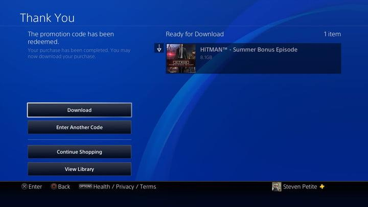 Want your free stuff? Here's how to redeem a code on your PS4