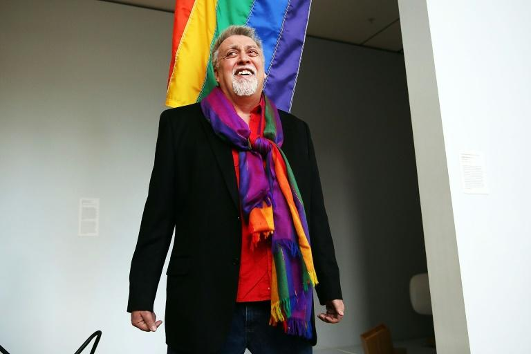 American artist Gilbert Baker, who has died at the age of 65, came up with the iconic  gay pride rainbow flag for San Francisco's 1978 gay freedom day