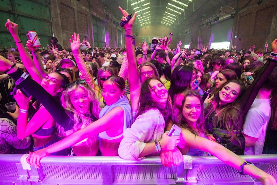 <p>Attendees hailed this as a 'big moment' for the UK</p> (Getty Images)
