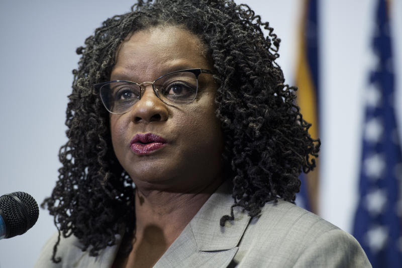 Rep. Gwen Moore (D-Wis.) knows personally what it's like to escape an abusive partner who has a firearm. (Tom Williams via Getty Images)