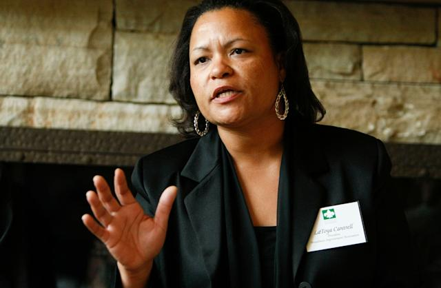 City Councilwoman LaToya Cantrell was elected mayor of New Orleans on Saturday.