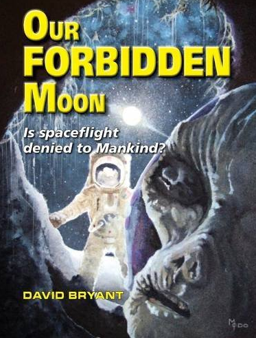 David's known for his theories, some of which are laid out in his book 'Our Forbidden Moon'. Photo: Amazon